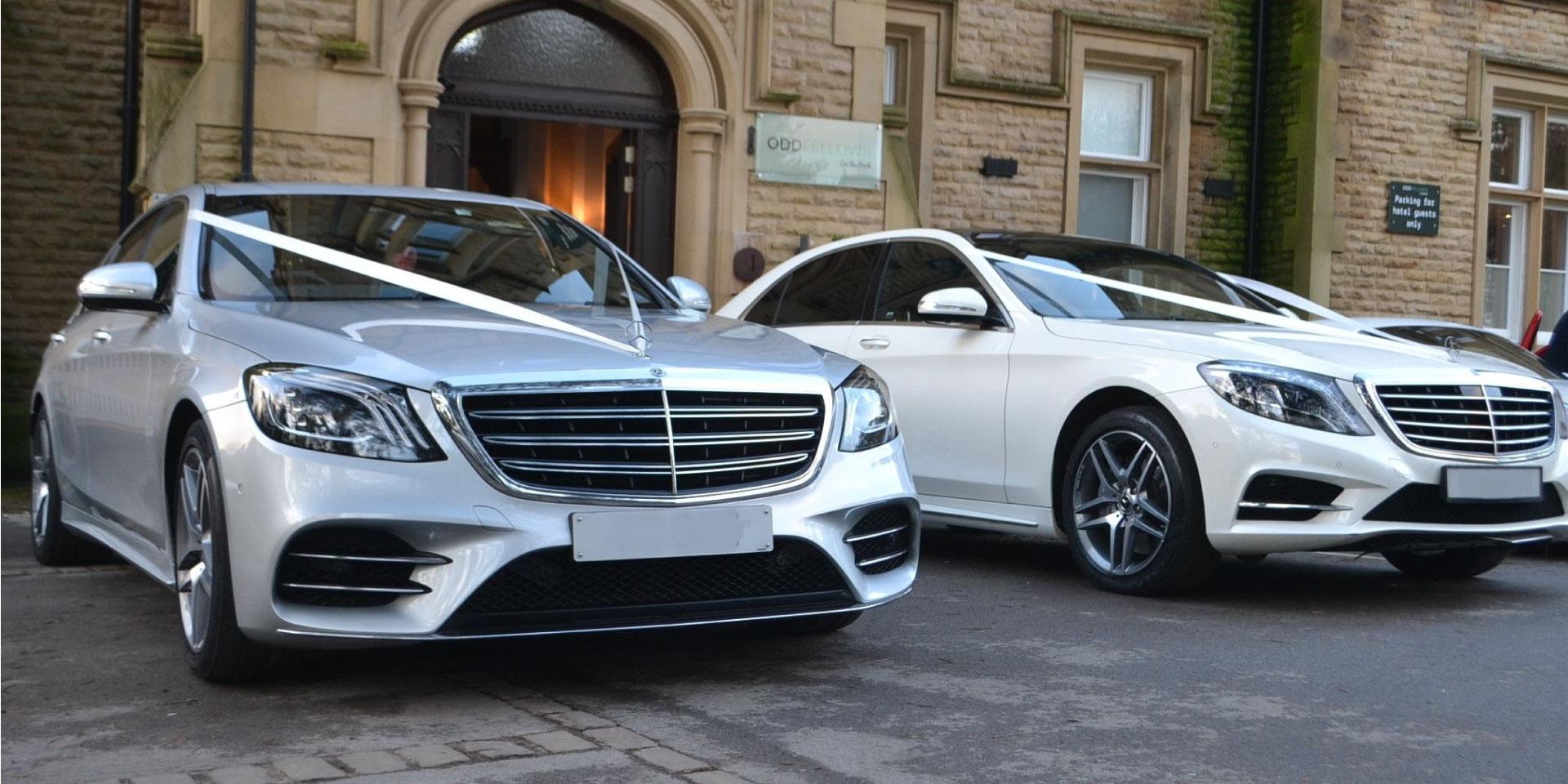 Luxury Mercedes<br>Wedding Car Hire